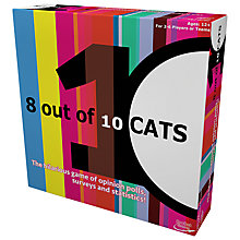 Buy Esdevium 8 Out of 10 Cats Board Game Online at johnlewis.com