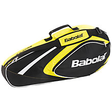 Buy Babolat 3 Pack Tennis Racket Bag, Black/Yellow Online at johnlewis.com