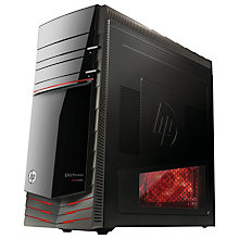Buy HP Envy Phoenix 810-470na Desktop PC, Intel Core i7, 16GB RAM, 2TB+128GB SSD, Black Online at johnlewis.com