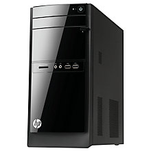 Buy HP 110-550na Desktop PC, Intel Core i5, 8GB RAM, 1TB, Black Online at johnlewis.com
