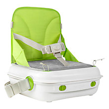 Buy YummiGo Feed & Go 3-in-1 Booster Seat, Green Online at johnlewis.com