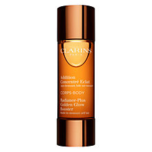 Buy Clarins Radiance-Plus Golden Glow Booster for Body, 30ml Online at johnlewis.com