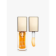 Buy Clarins Instant Light Lip Comfort Oil, Honey Online at johnlewis.com