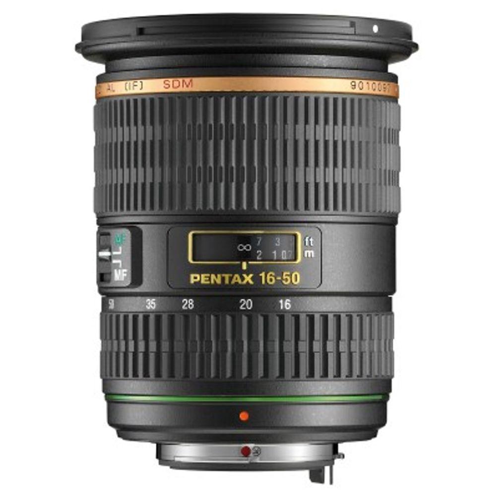 Pentax Pentax SMCP-DA* 16-50mm f/2.8 ED AL (IF) SDM Wide Angle Zoom Lens