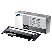 Buy Samsung CLT-K406S Toner Cartridge, Black Online at johnlewis.com