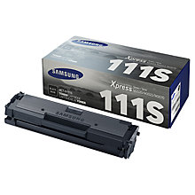Buy Samsung MLT-D111S Toner Cartridge, Black Online at johnlewis.com