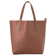 Buy Mango Faux Leather Shopper Bag Online at johnlewis.com