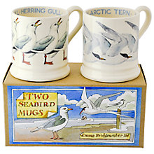 Buy Emma Bridgewater Seabirds Mugs, Set of 2 Online at johnlewis.com