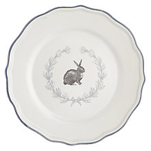Buy John Lewis Maison Easter Bunny Side Plate Online at johnlewis.com