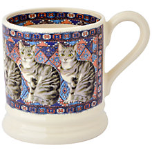 Buy Emma Bridgewater Tabby Cat on a Rug Mug Online at johnlewis.com