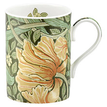 Buy Sanderson Pimpernel William Morris Mug Online at johnlewis.com