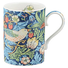 Buy Sanderson Strawberry Thief William Morris Mug Online at johnlewis.com