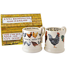 Buy Emma Bridgewater Hens Mugs, Set of 2 Online at johnlewis.com