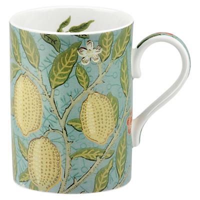 Sanderson William Morris & Co. Fruit Slate/Thyme Mug