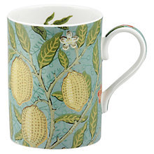 Buy Sanderson William Morris & Co. Fruit Slate/Thyme Mug Online at johnlewis.com