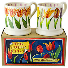 Buy Emma Bridgewater Tulip Mugs, Set of 2 Online at johnlewis.com