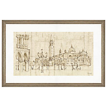 Buy Adelene Fletcher - Piazetta Di San Marco Framed Print, 87 x 57cm Online at johnlewis.com
