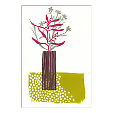 Buy Fiona Howard - Tall Vase Unframed Print with Mount, 30 x 40cm Online at johnlewis.com