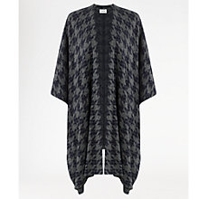 Buy Jigsaw Dogtooth Blanket Coat Online at johnlewis.com
