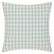 Buy John Lewis Gingham Check Cushion Online at johnlewis.com