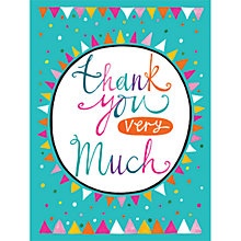 Buy Rachel Ellen Thank You Very Much Note Cards, Pack of 5 Online at johnlewis.com