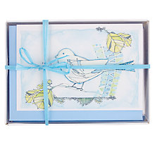 Buy Valerie Valerie Bluebird Boxed Notecards, Pack of 8 Online at johnlewis.com
