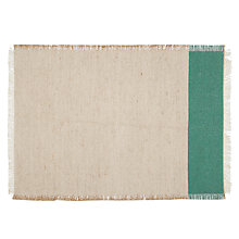 Buy John Lewis Solo Stripe Placemat, Green Online at johnlewis.com