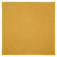 Buy John Lewis Colchester Plain Napkin Online at johnlewis.com