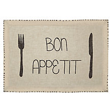 Buy John Lewis Bon Appetit Placemat Online at johnlewis.com