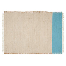 Buy John Lewis Flamenco Placemat, Blue Online at johnlewis.com
