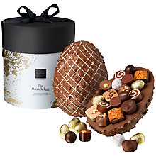 Buy Hotel Chocolat Classic Chocolate Ostrich Egg, 1.1kg Online at johnlewis.com