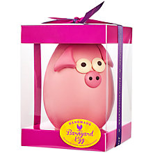 Buy James Chocolates Large Pig Easter Egg, 60g Online at johnlewis.com