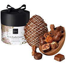 Buy Hotel Chocolat Rocky Road Extra Thick Egg, 510g Online at johnlewis.com