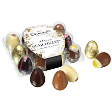 Buy Hotel Chocolat A Dozen Quail Egglets, 145g Online at johnlewis.com
