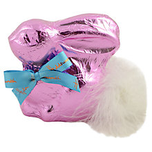 Buy Holdsworth Chocolate Bunny, 130g, Pink Online at johnlewis.com
