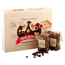 Buy Choc on Choc Make Your Own Easter Egg Kit, 300g Online at johnlewis.com