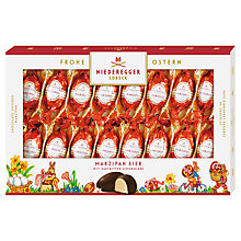 Buy Niederegger Classic Marzipan Eggs, Pack of 16, 250g Online at johnlewis.com