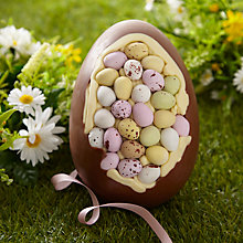 Buy Cocoabean Company Giant Chocolate Egg, 1.5kg Online at johnlewis.com