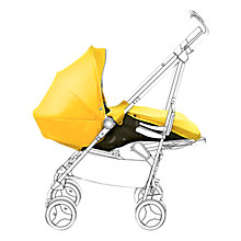 Buy Silver Cross Reflex Pushchair Birth Pack, Yellow Online at johnlewis.com