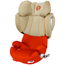 Buy Cybex Solution Q2-Fix Group 2/3 Car Seat, Autumn Gold Online at johnlewis.com
