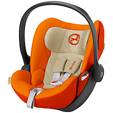 Buy Cybex Cloud Q Group 0+ Baby Car Seat, Autumn Gold Online at johnlewis.com