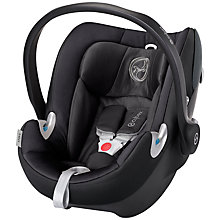 Buy Cybex Aton Q Group 0+ Baby Car Seat, Black Beauty Online at johnlewis.com