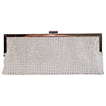 Buy Chesca Diamante Evening Bag, Silver Online at johnlewis.com