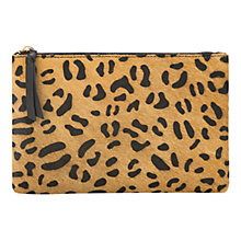 Buy Mango Leather Clutch Bag Online at johnlewis.com