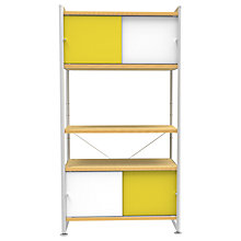 Buy Bisley Stage Single Bay, Canary / White Online at johnlewis.com
