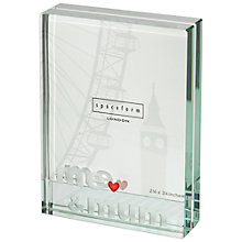 Buy Spaceform Me & Mum Glass Picture Frame, Small Online at johnlewis.com