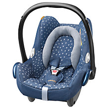 Buy Maxi-Cosi Cabriofix Car Seat, Denim Heart Online at johnlewis.com