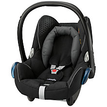 Buy Maxi-Cosi Cabriofix Group 0+ Baby Car Seat, Origami Black Online at johnlewis.com