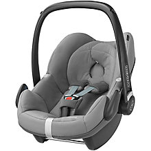 Buy Maxi-Cosi Pebble Infant Carrier, Concrete Grey Online at johnlewis.com