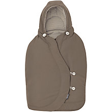 Buy Maxi-Cosi Pebble Footmuff, Earth Brown Online at johnlewis.com
